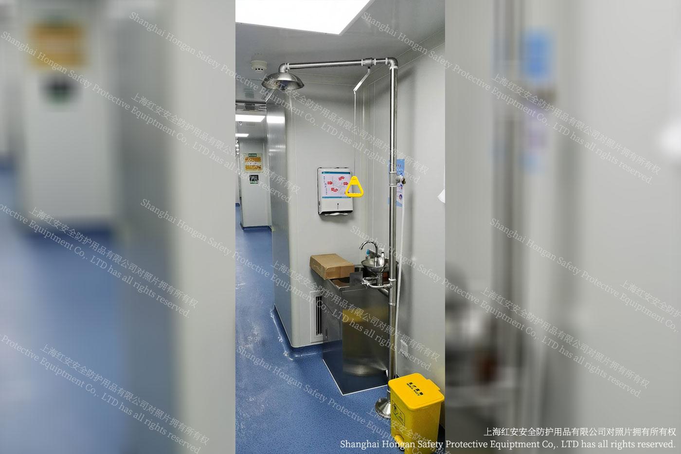 1客户秀图-洗眼器实际图片-上海红安洗眼器厂家