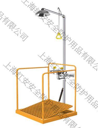 90906661-dz定制大踏板洗眼器防冻排空